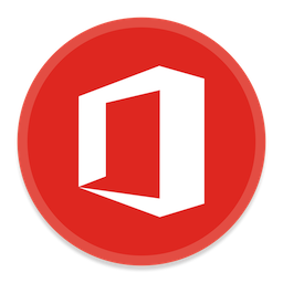 256x256px size png icon of Office