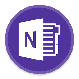 256x256px size png icon of OneNote 2