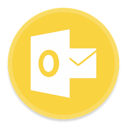 256x256px size png icon of Outlook 2