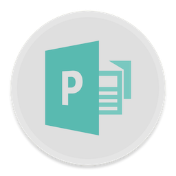 256x256px size png icon of Publisher