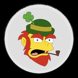 256x256px size png icon of Leprechaun