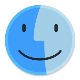 256x256px size png icon of Finder 1