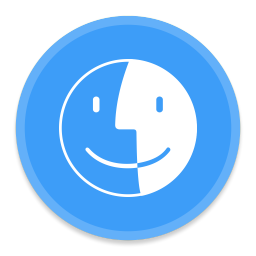 256x256px size png icon of Finder 2