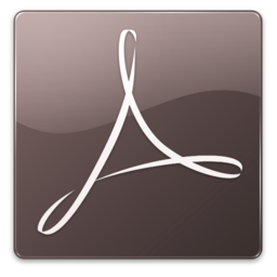 256x256px size png icon of Acrobat Distiller