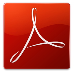 256x256px size png icon of Acrobat Reader