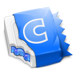 256x256px size png icon of Blue CandyBar