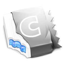 256x256px size png icon of Metallic Blue CandyBar