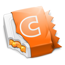 256x256px size png icon of Orange CandyBar