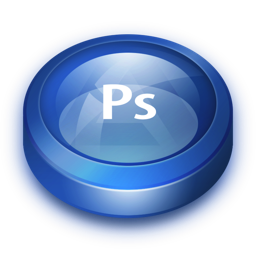 256x256px size png icon of Photoshop
