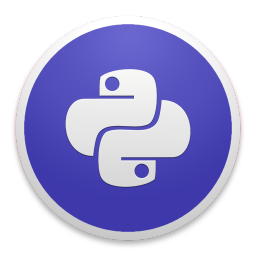 256x256px size png icon of Python