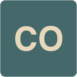 256x256px size png icon of CO
