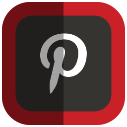 256x256px size png icon of Pinterest