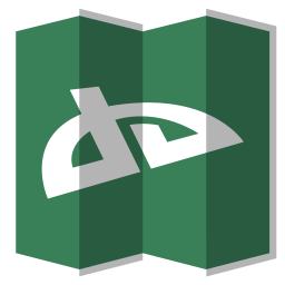 256x256px size png icon of Deviantart