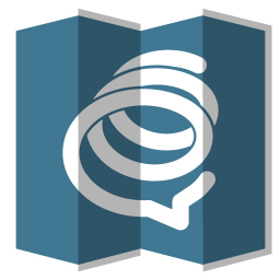 256x256px size png icon of Formspring
