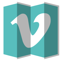 256x256px size png icon of Vimeo