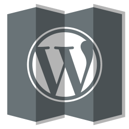 256x256px size png icon of Wordpress