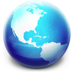 256x256px size png icon of Glow Ball Inactive