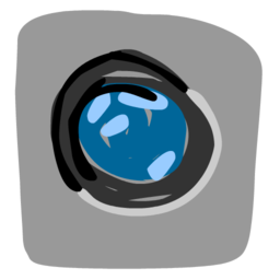 256x256px size png icon of Camera 512x512