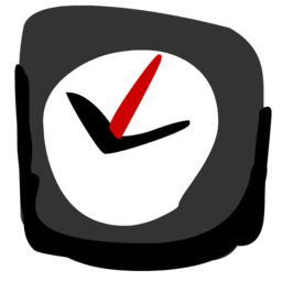 256x256px size png icon of Clock 512x512