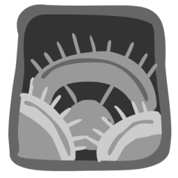 256x256px size png icon of Settings 512x512