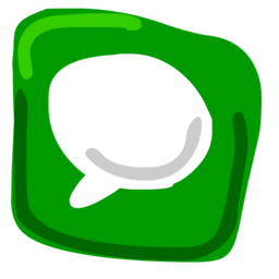 256x256px size png icon of Text 512x512