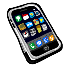 256x256px size png icon of iPhone 512x512