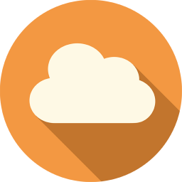256x256px size png icon of Cloud