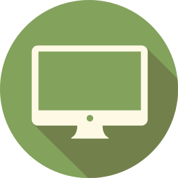 256x256px size png icon of LCD Monitor
