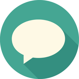 256x256px size png icon of Message Bubble