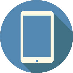 256x256px size png icon of Mobile Tablet