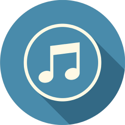 256x256px size png icon of Sound Music