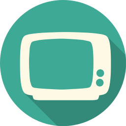 256x256px size png icon of Television