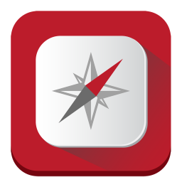 256x256px size png icon of Compass