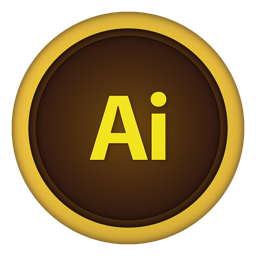 256x256px size png icon of ai