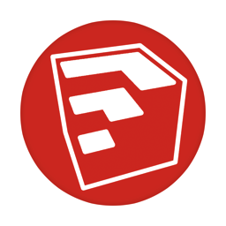 256x256px size png icon of Sketchup