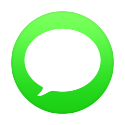 256x256px size png icon of iMessage