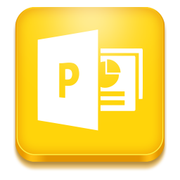 256x256px size png icon of powerpoint