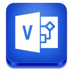 256x256px size png icon of visio