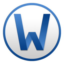 256x256px size png icon of Word Circle