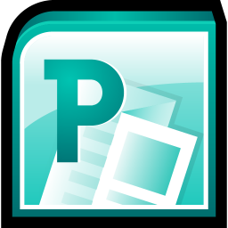 256x256px size png icon of Microsoft Office Publisher