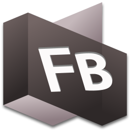 256x256px size png icon of Flash Builder 1