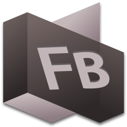 256x256px size png icon of Flash Builder 2