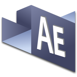 256x256px size png icon of After Effects 1