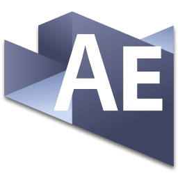 256x256px size png icon of After Effects 3