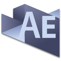 256x256px size png icon of After Effects 4
