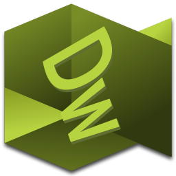 256x256px size png icon of Dreamweaver 2