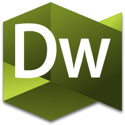 256x256px size png icon of Dreamweaver 3