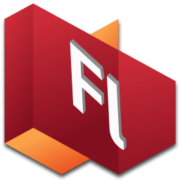 256x256px size png icon of Flash 1