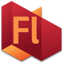 256x256px size png icon of Flash 4