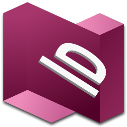256x256px size png icon of InDesign 1